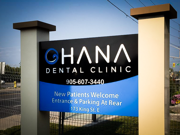 <strong>OHANA Dental Clinic<span><b>view larger</b></span></strong><i>→</i>